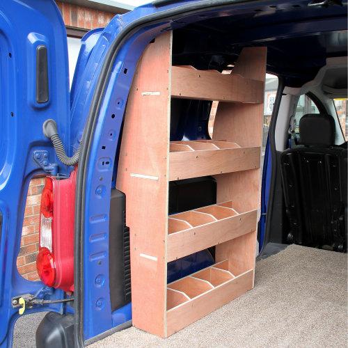 Monster Racking Peugeot Partner II SWB Van Rack