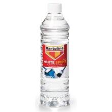 Bartoline White Spirit Paint Brush Cleaner Thinning Solvent / Oil Based Paints