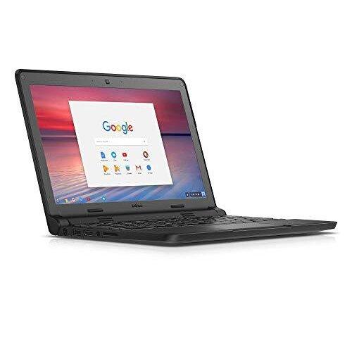 "DELL Chromebook 3120 Black 11.6"" 1366 x 768 pixels Intel Celeron N2840 2GB RAM DDR3L 16GB eMMC SSD Chrome OS (Renewed) - Refurbished"