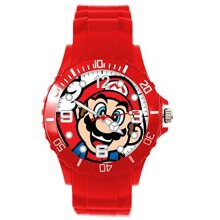 RED Silicone Watch for Mario Fans E3