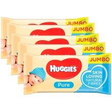 Huggies Pure Baby Wipes 72 Gentle Sensitive Skin Natural Alcohol Free (5)