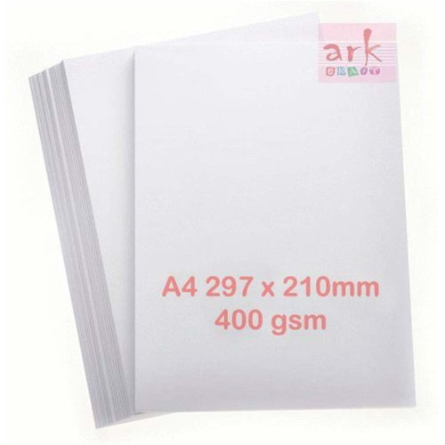 A4 White 400gsm Premium Super Thick Printing Card