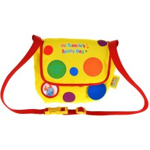 Mr Tumble 1163 Surprise Spotty Bag Slotted Pocket Adjustable Strap