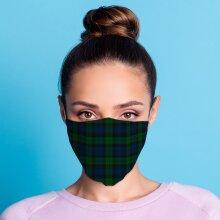 Tartan Reusable Face Covering - Large X 1 Pack