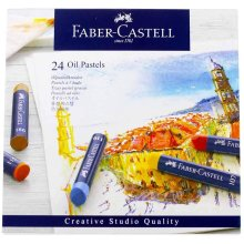 Faber-Castell Creative Studio Oil Pastels Box 24