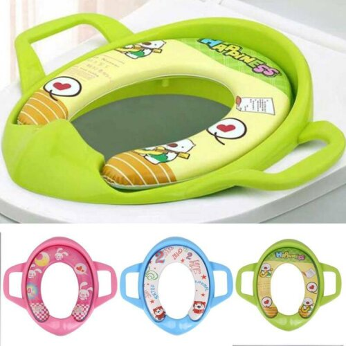 Baby Potty Training Toilet Seat With Handles