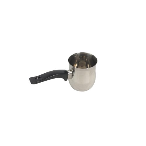 (250ml) Coffee Warmer Pot Plastic Handle (Stainless Steel)