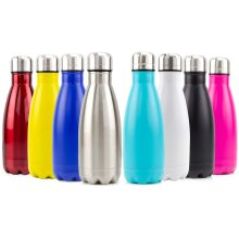 Tide Stainless Steel Double Walled Insulated Thermal Drinking Water Bottle