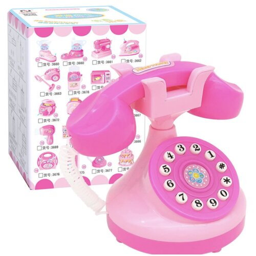 Mini Electric Simulation Telephone Toy for Children