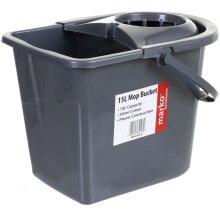 15L Plastic Mop Bucket