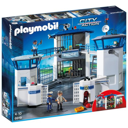 Playmobil 6919 City Action Police Headquarters with Prison