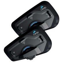 Cardo Scala Rider Freecom 4 Plus DUO Motorcycle Bluetooth Intercom System JBL