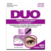 Duo Quick Set Striplash Adhesive, Dark