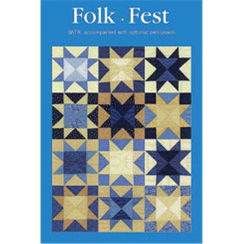 Alfred 00-Svb9908 Folk Fest-Satb Book