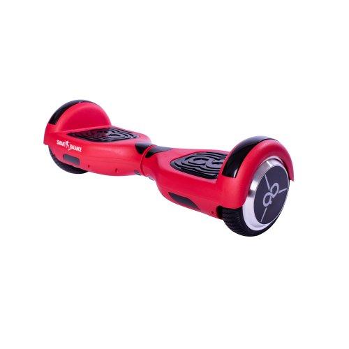 Hoverboard Smart Balance™ Premium Brand, Regular Red Mate Edition Skate Flash, 6.5 inch