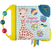 Sophie la girafe Birth Gift Set Including Early Learning Book and Hand Rattle White