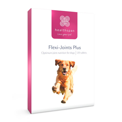 Dog Supplements | Flexi-Joints Plus | Healthspan | 120 Tablets