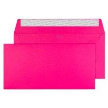 Blake Creative Colour DL+ 114 x 229 mm 120 gsm Peel & Seal Wallet Envelopes (25242) Shocking Pink - Pack of 25