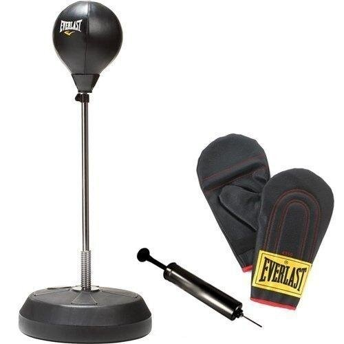Everlast Punch Bag Stand Kit with Boxing Gloves and Pump