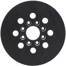 Bosch Professional 2608000349 Grinding Plate, Black/White, Medium, 125 mm