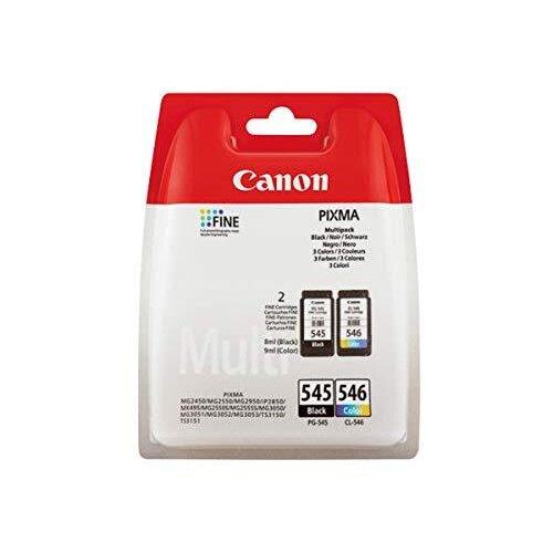 Canon PG-545/CL-546 BK/C/M/Y Ink Cartridge Multipack