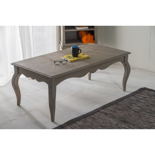 Bourdeilles Coffee Table Solid Shabby Chic in Mango