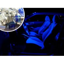 Blue LED Interior Bulb Kit Spare Electric Part Replacement For BMW 3 Series E90