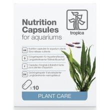 Tropica Nutrition Capsules, Slow Release Nutrients Over 1-2 Months - Pack of 10