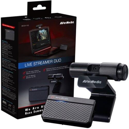 Avermedia Bo311d Live Streamer Duo Streamer / Youtuber Starter Pack 61BO311D00AM