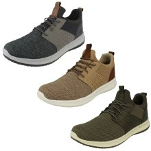 Mens Skechers Stylish Delson Trainers Camben 65474