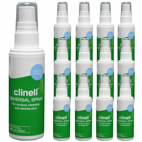 5 x Clinell Universal Disinfectant Anti Bacterial Spray 60ml