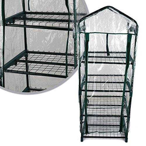 Kingfisher GHPRO Premium 4 Tier Greenhouse - Clear