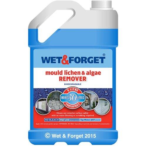 Wet & Forget Moss Mould Lichen & Algae Remover - 5L