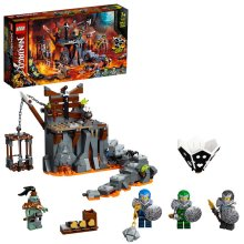 LEGO NINJAGO Journey to the Skull Dungeons Game Set 71717 Age 5+ 401pcs