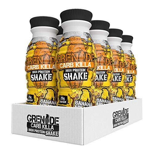 Grenade Carb Killa Banana Armour High Protein Shake, 8 x 330 ml