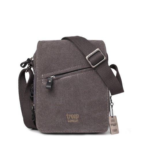 Troop London Classic Canvas Across Body Bag | Buy Across Bags Online | Canvas Across Body Bag | shoulder bags for men