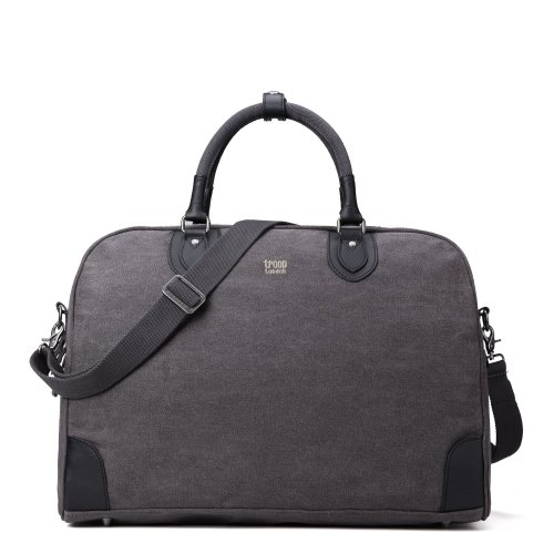 Troop London Classic Large Canvas Holdall | Buy Canvas Holdall Bag | Canvas Holdall Bag Women | shoulder bags for women