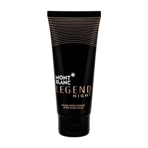3 x MontBlanc Legend Night After Shave Balm 100ml