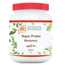 Vegan Protein Powder Recovery Vanilla, Plant-Based, Pea-Protein