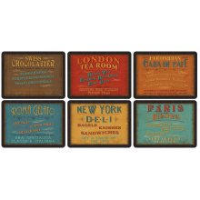 Pimpernel Lunchtime Placemats Set of 6