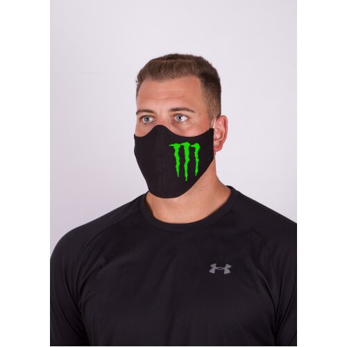 Monster Energy Drink  Man Facemask, 100%cotton