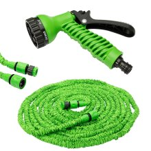 Expandable Garden Hose With 7 Functions | Spray Gun