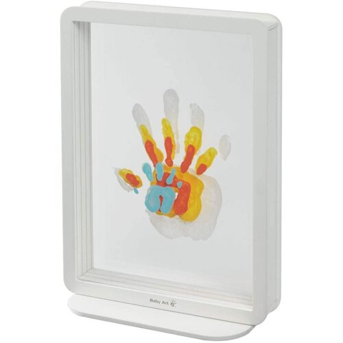 Baby Art Family Touch, Transparent Family Handprint Frame, 12+months, 12 x 31 cm