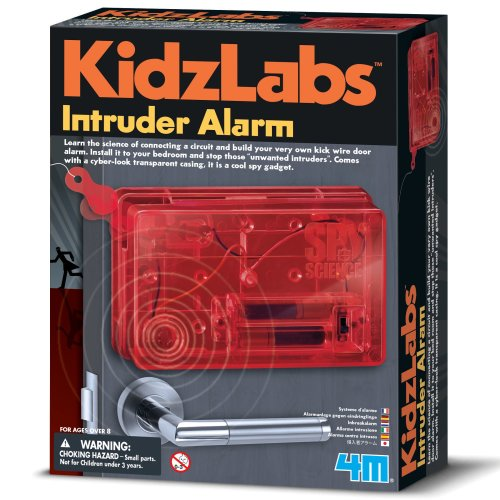 Intruder Alarm - Spy Science - Kidz Labs Children's Creative Set