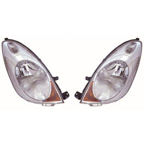 Nissan Note 2006-2009 Headlights Headlamps 1 Pair O/s & N/s