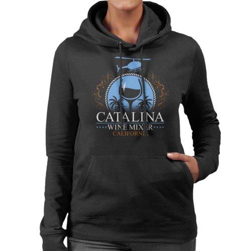 Catalina Wine Mixer California Step Brothers Women's Hooded Sweatshirt