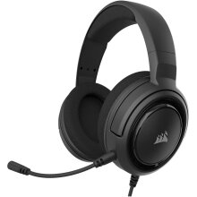 Corsair HS35 - Stereo Gaming Headset - Memory Foam Earcups - Discord Certified - Carbon