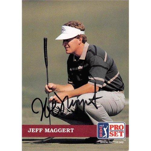 Autograph Warehouse 527953 Jeff Maggert Autographed Trading Card - Golf, PGA Tour & Texas A&M Aggies, SC 1992 Pro Set No.35