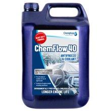 ChemFlow 40 - Antifreeze Concentrate 1 x 5 Litres | Chemiphase Ltd