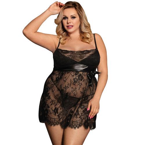 (Black, XXXXXXXL) Women Sexy Underwear Set